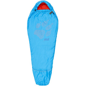 Jack Wolfskin Grow Up Sleeping Bag Children blue